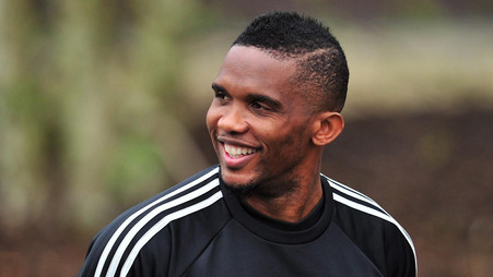 Eto'o predicts «New God» to join Ronaldo & Messi as a Football Great