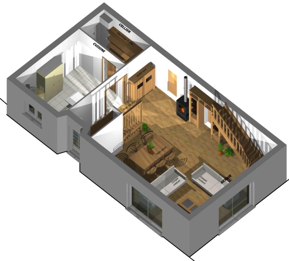 Réorganisation des espaces