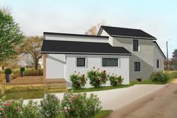 Extension maison existante