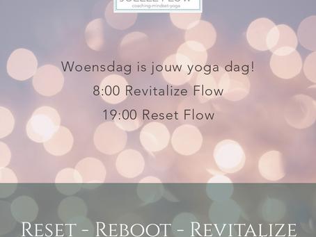 Woensdag is jouw yoga dag !