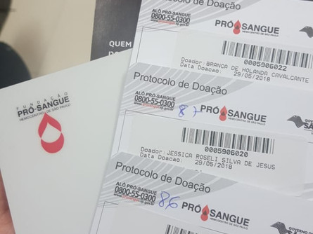 Doe Sangue, Doe Vidas!