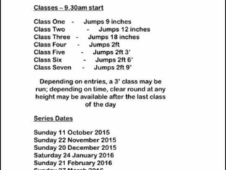 Winter Jumping Series
