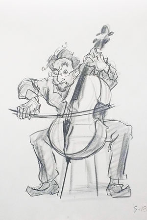 LifeDrawing - Cellist 1.jpg