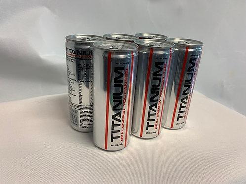 Titanium 6 Pack       ($4 per can)