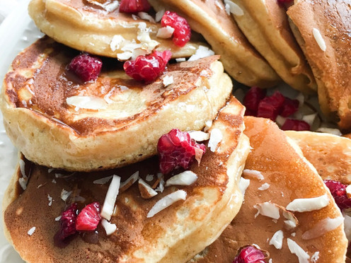 PANCAKES FLUFFY & HEALTHY