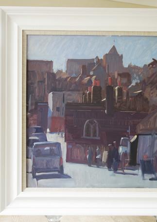 Red Chimneys, Rye town