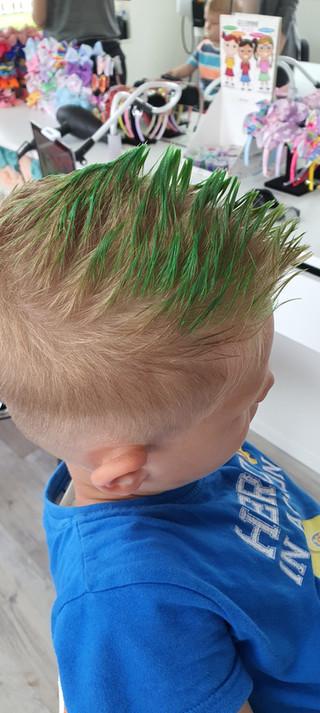 Colored Hair Gel for Boys
