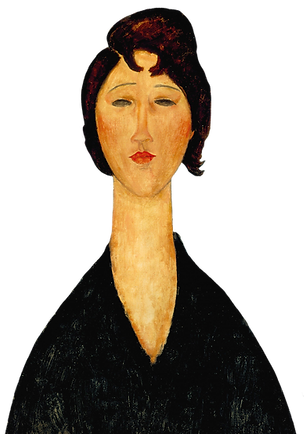 Amedeo_Modigliani,_1918,_Portrait_of_a_Young_Woman,_oil_on_canvas,_61_x_45.7_cm,_New_Orlea
