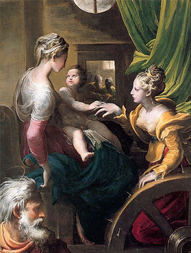 Parmigianino_-_The_Mystic_Marriage_of_Sa
