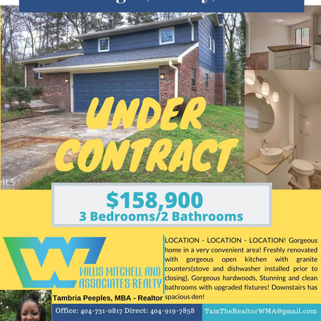 Low Rates = Under Contract
