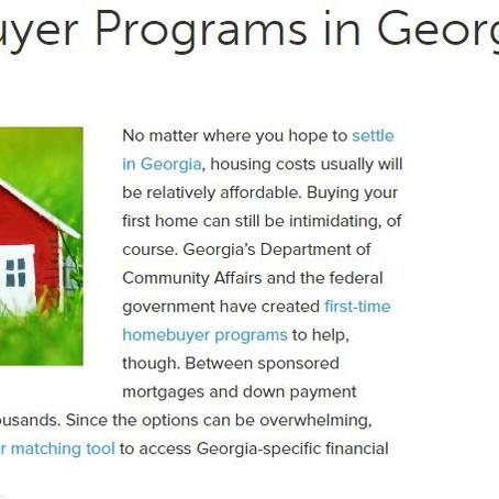 GA First Homebuyer Programs
