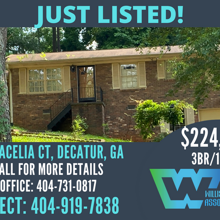 Just Listed in Decatur!