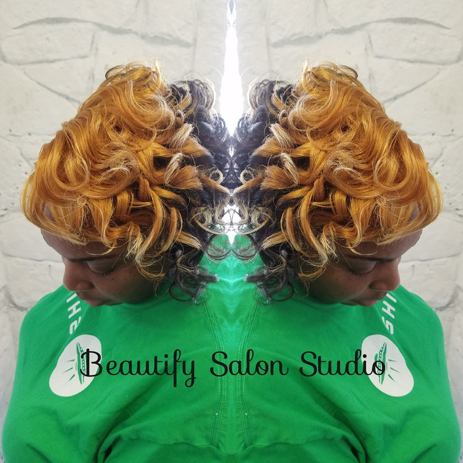 Short Hair, Silk Press, Natural Hair,  Relaxers, Oh My!