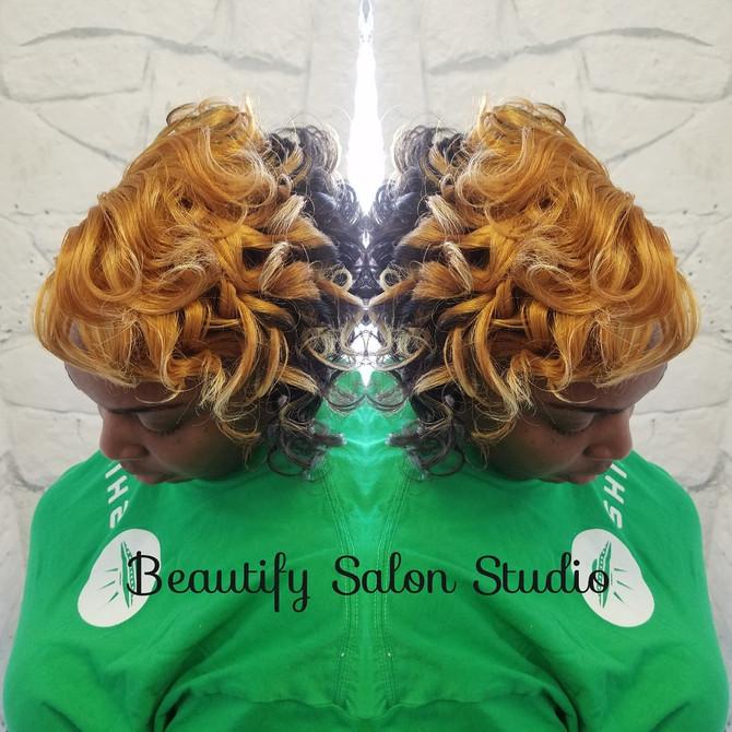 Short Hair, Silk Press, Natural Hair,  Relaxers, Oh My!