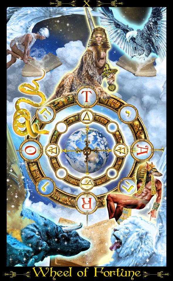 The Wheel of Fortune - Tarot Illuminati