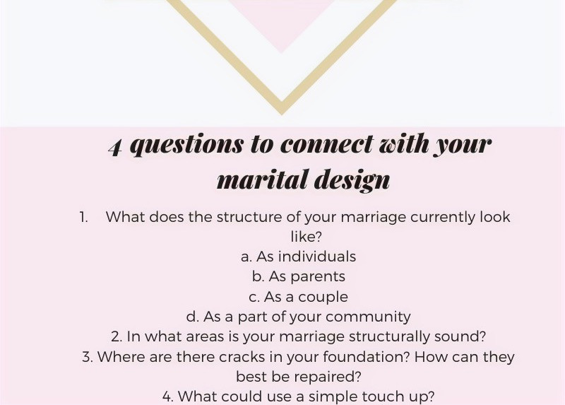 4 questions to connect with your marital design by LaSweetWife Tarot