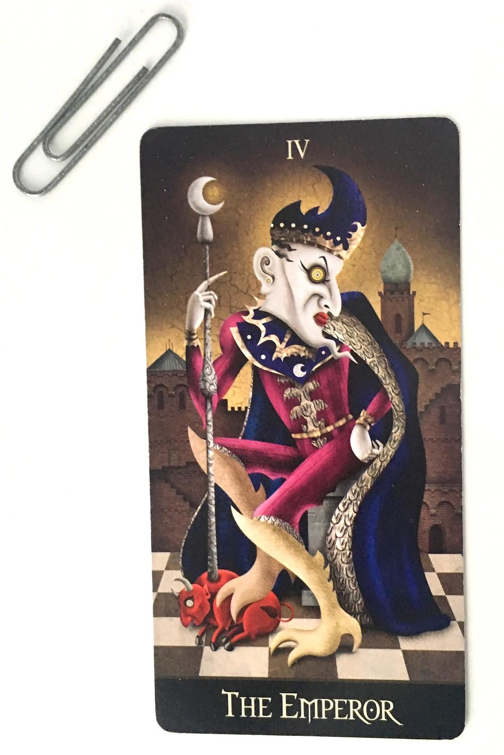 The Emperor - The Deviant Moon Tarot