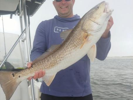 Pensacola Beach Fishing Report 02-22-19