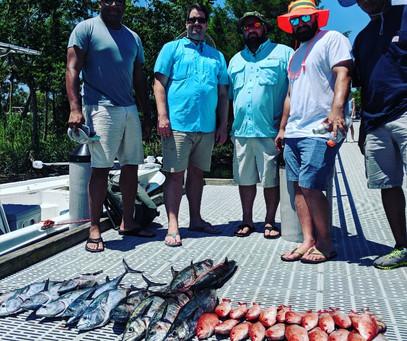 Pensacola Beach Fishing Report 05-27-19