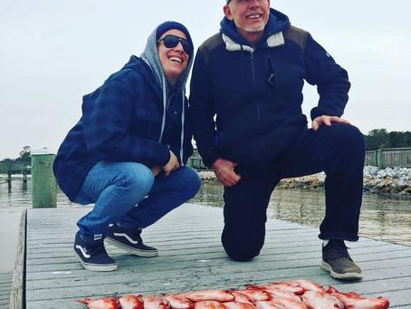 Navarre Beach Fishing Report 01-27-19