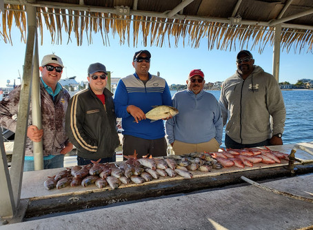 Fishing Report 01-06-19
