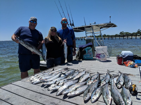 Pensacola Fishing Charter 04-22-19