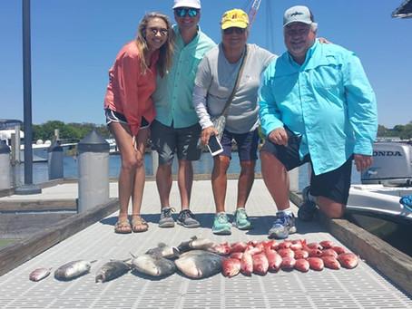 Pensacola Fishing Reports 04-15-19