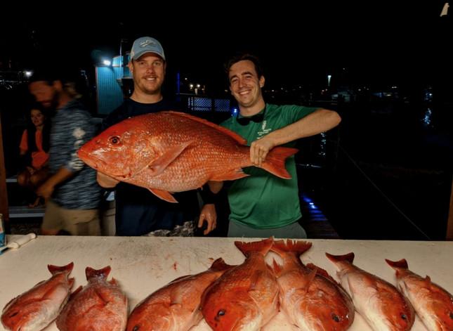 Perdido Key Red Snapper Fishing