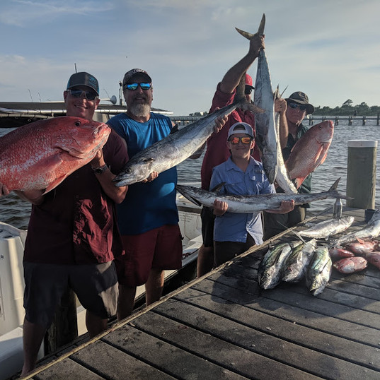 Pensacola Beach Nearshore Fishing Charters