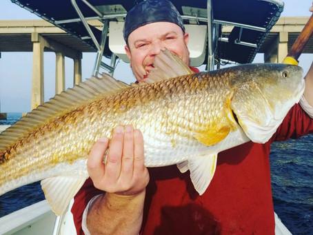 Navarre Beach Fishing Report 02-16-19