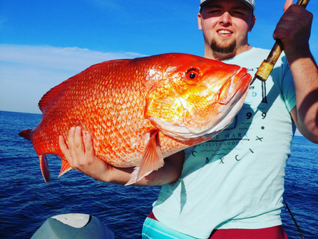 Pensacola Beach Fishing Report 12/18/18