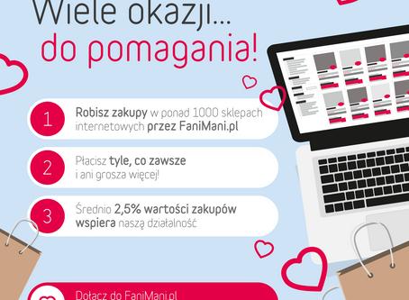 Fundacja na stronie FaniMani.pl
