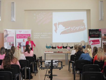 Różowy dzień w Liceum Ogólnokształcącym w Nowym Dworze Gdańskim