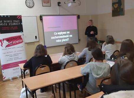 Fundacja w liceum Plastycznym w Jarosławiu