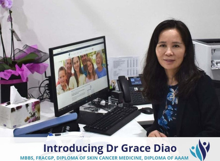 Introducing Dr Grace Diao
