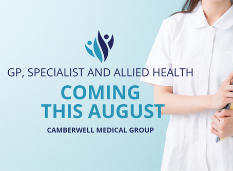 Our Medical Centre is opening soon!