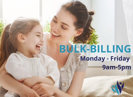 We offer bulk billing GP appointments