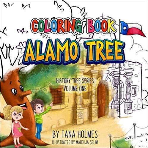 Alamo Tree- Coloring Book