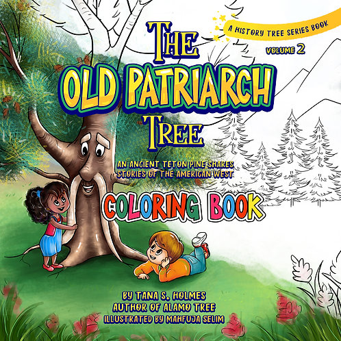 Old Patriarch Tree Coloring Book