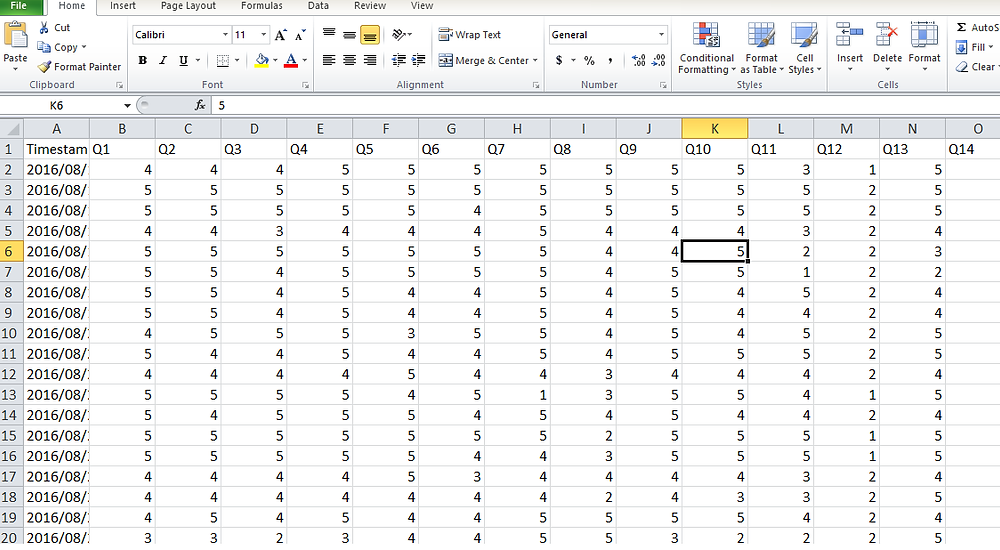 Coding SPSS sheet for your Research