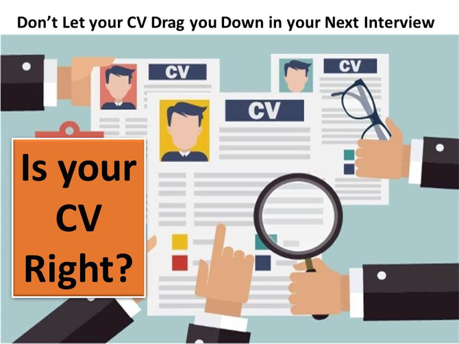 Applying with the Right CV and Why it Makes a Good Difference
