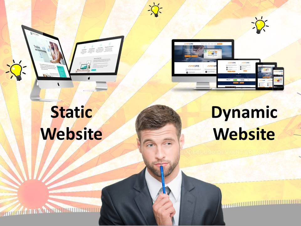 Static vs dynamic website choosing the right one in UAE