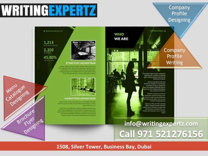 Peek through a company profile in UAE