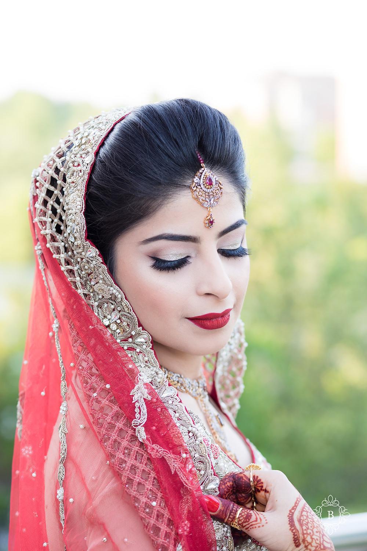 Northern Virginia Desi South Asian wedding bridal portraits