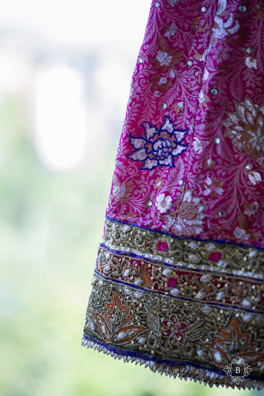 Northern Virginia Desi South Asian Mehndi dress details