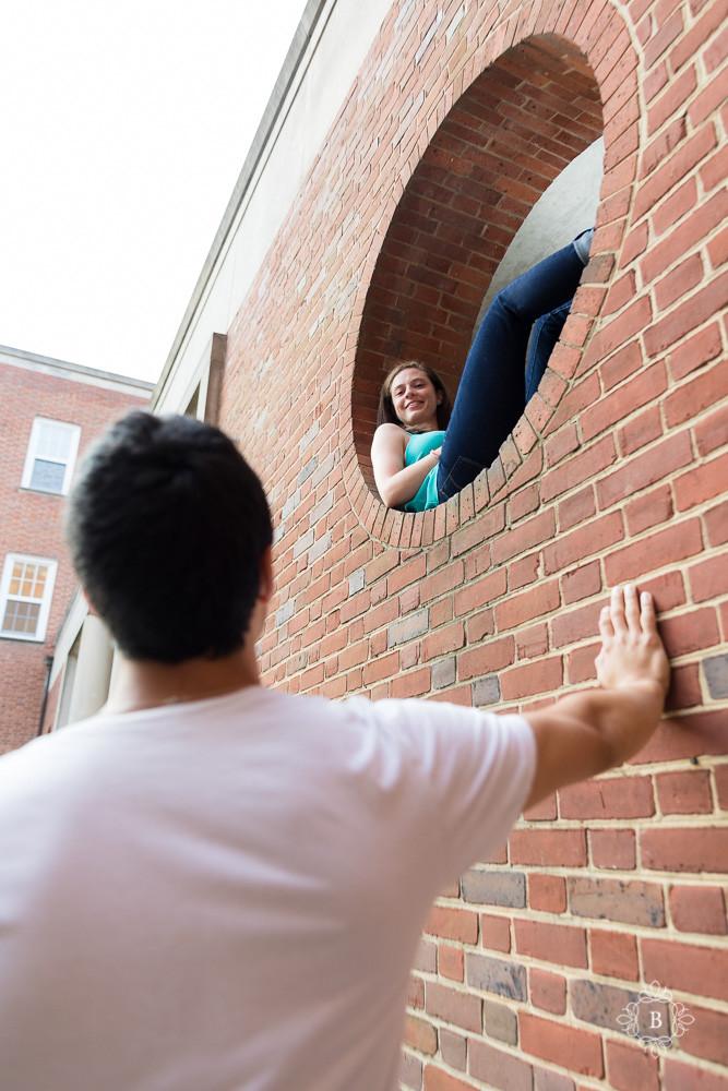 University of Maryland College Park sunrise engagement photography