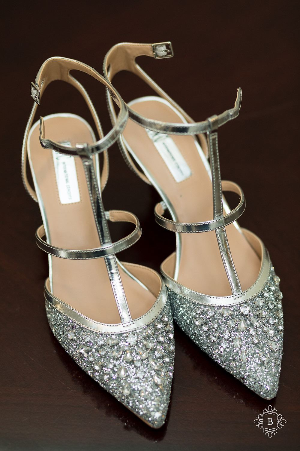 Northern Virginia Culpeper Center and Suites bridal details bride shoes