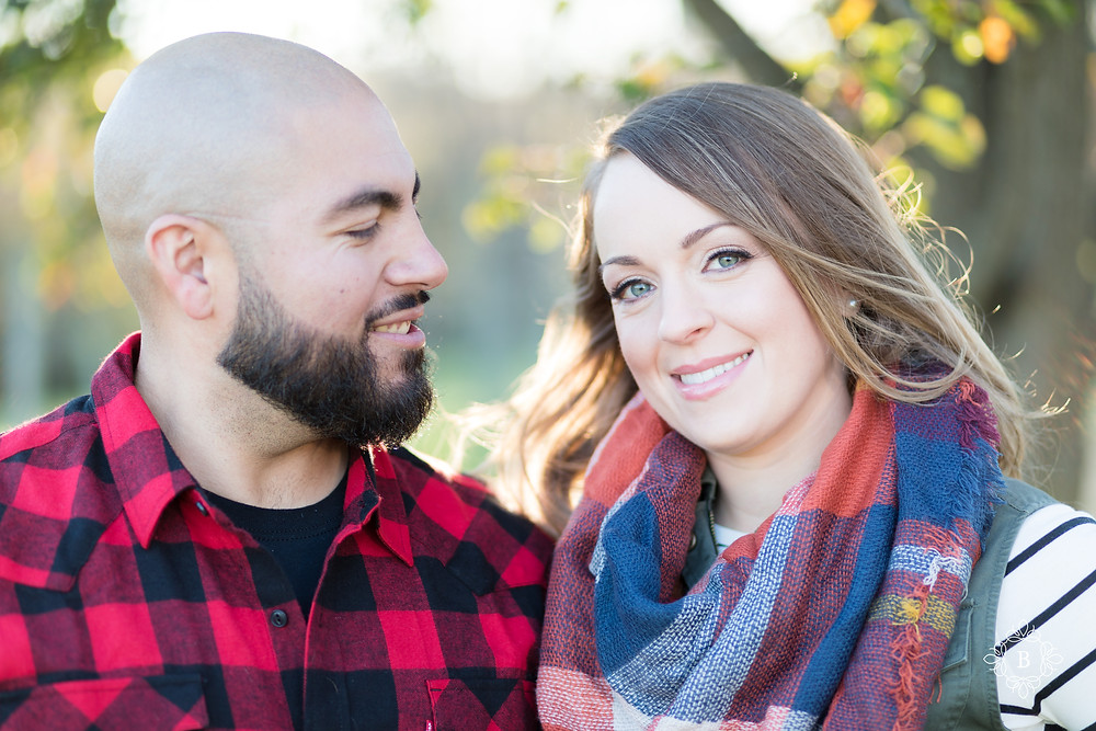 Northern Virginia Loudoun County engagement Quattro Goombas Winery fall sunset engagement
