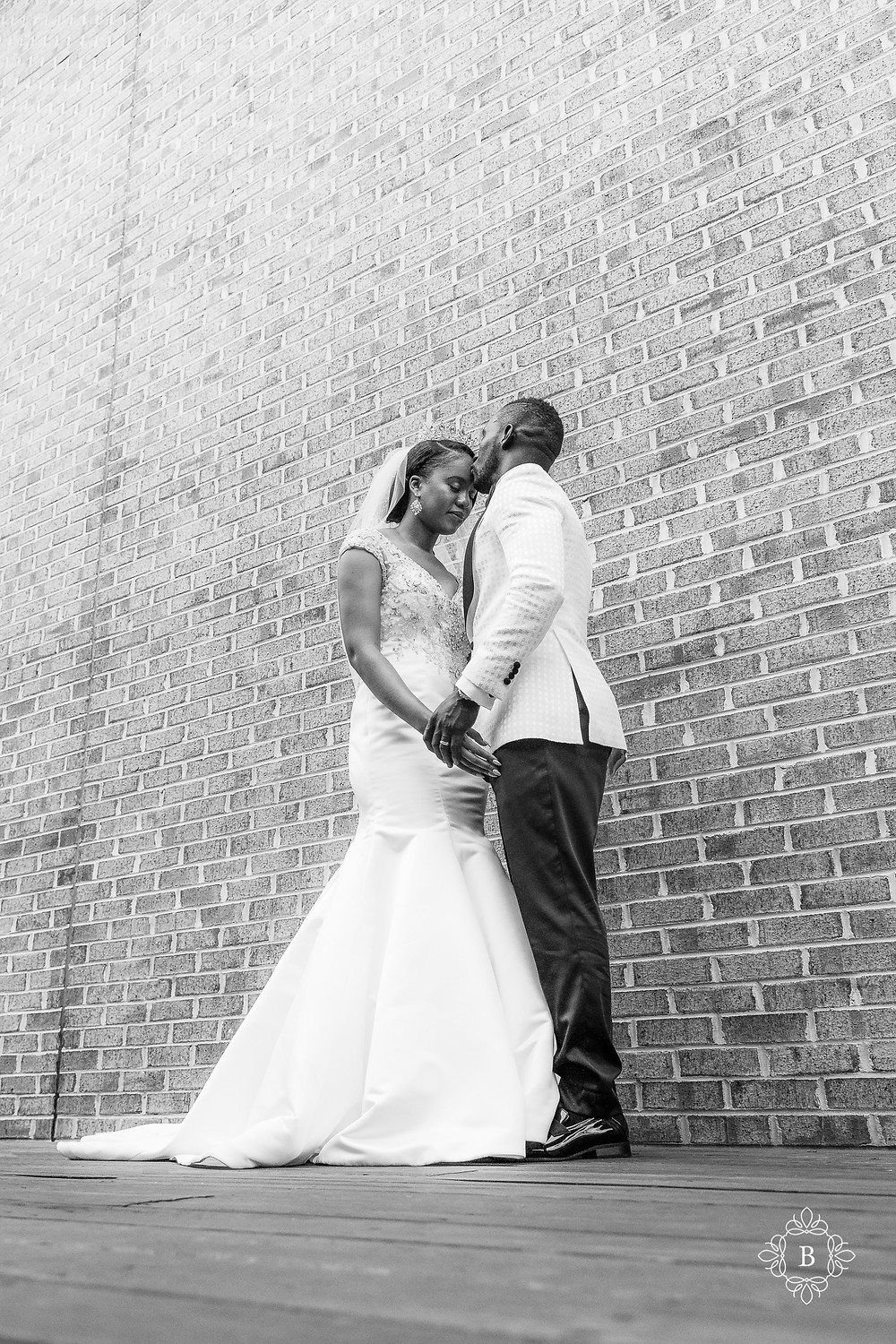 Northern Virginia Culpeper Center and Suites wedding party portraits bride and groom portrait