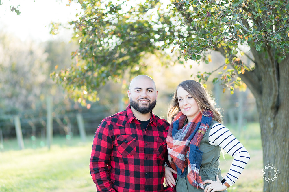 Northern Virginia Loudoun County engagement Quattro Goombas Winery fall engagement